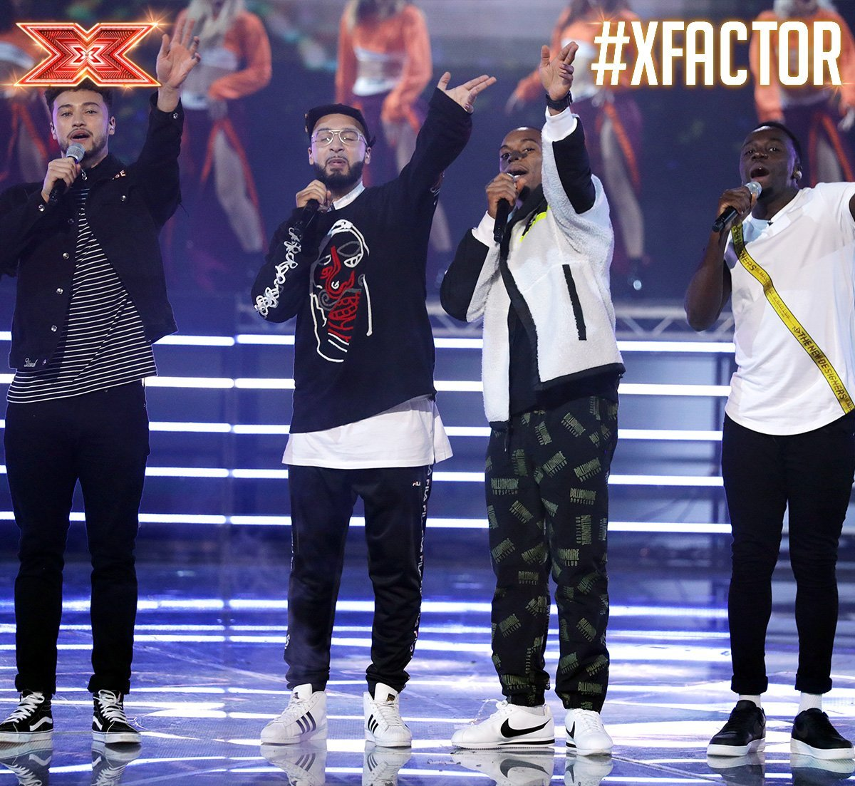 Rak-Su were crowned the winners of The X Factor 2017. Picture: The X Factor/Twitter