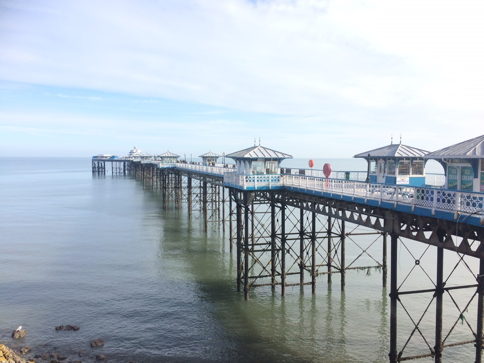 The Llandudno Pier. Picture: Kerry Roberts