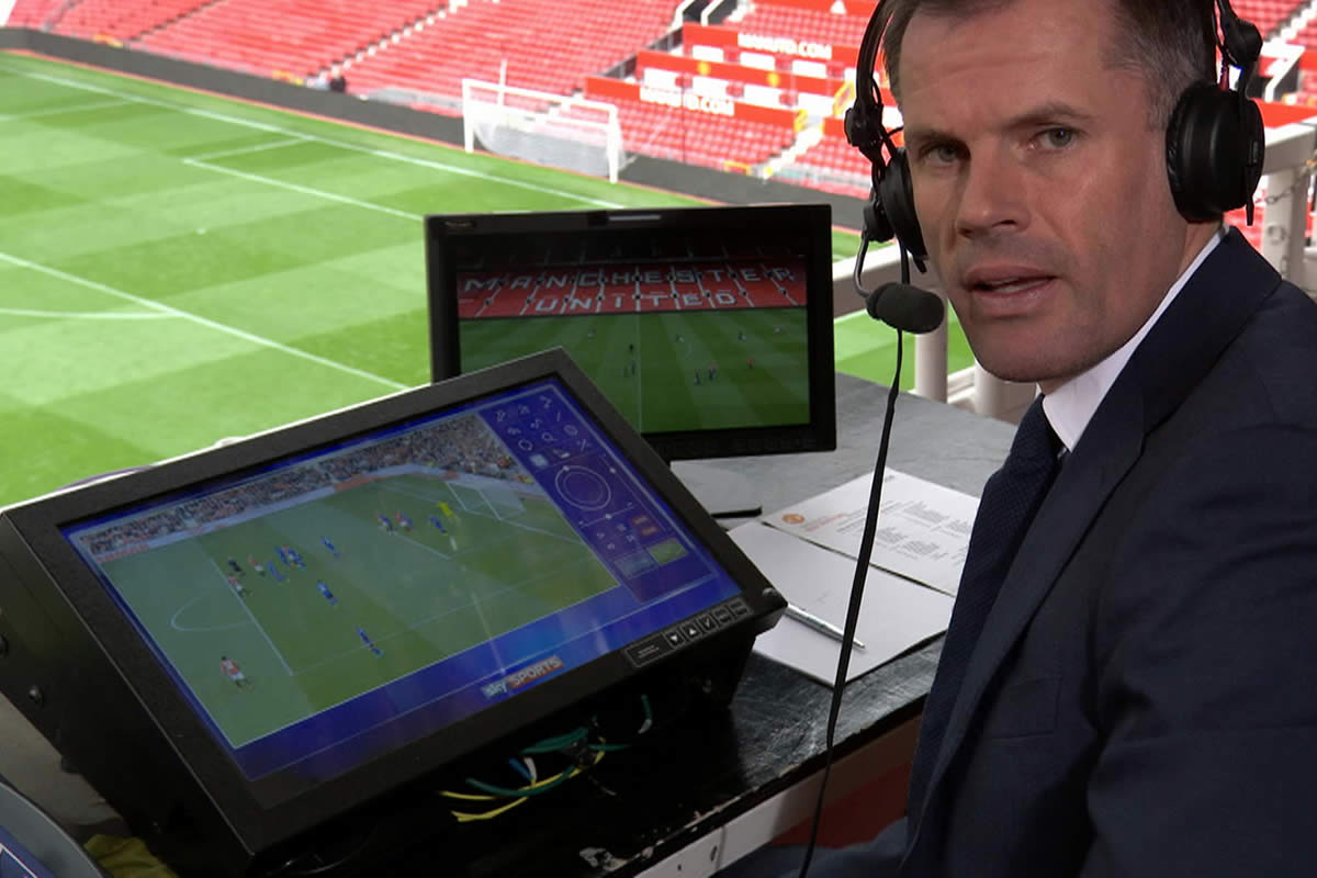 Sky Sports pundit and former Liverpool star Jamie Carragher