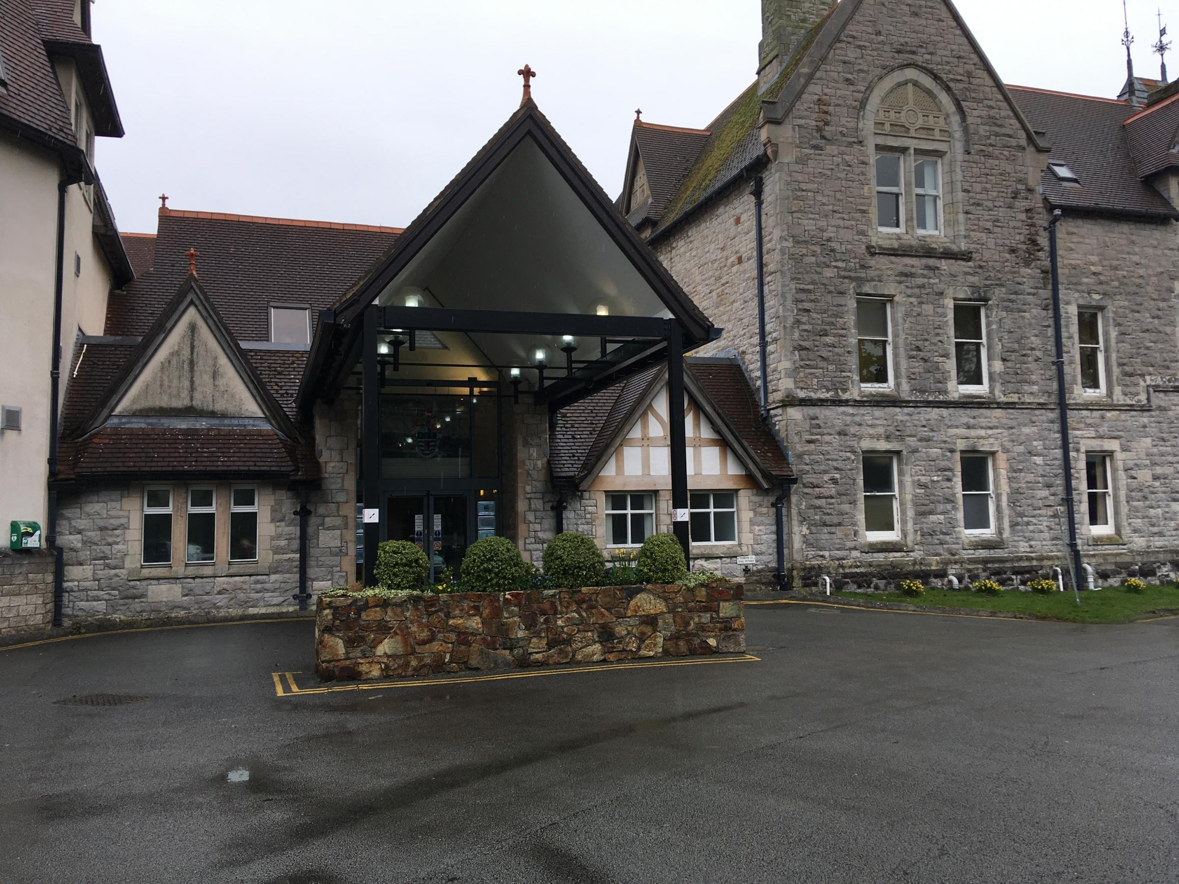 Conwy County Hall at Bodlondeb