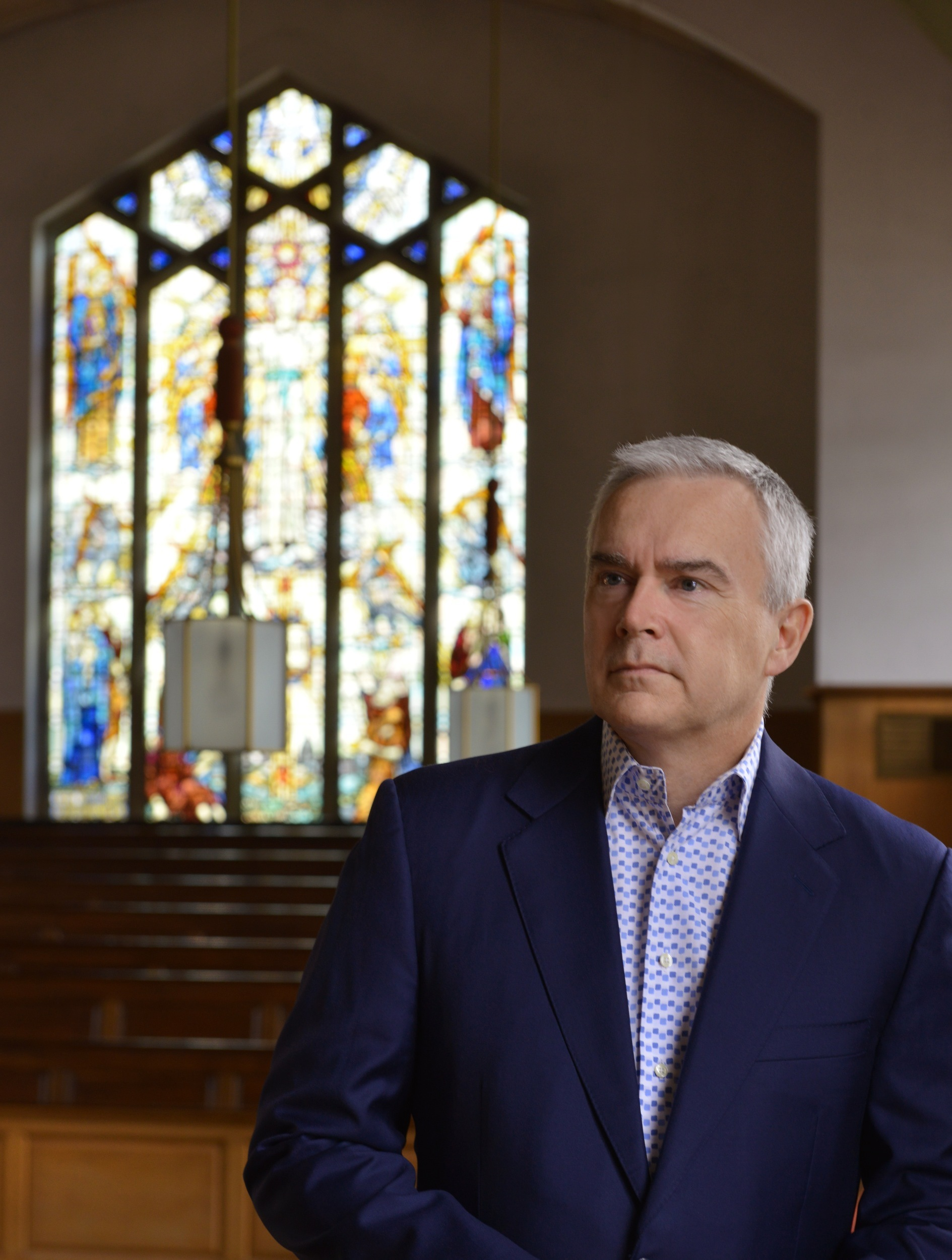 Broadcaster Huw Edwards