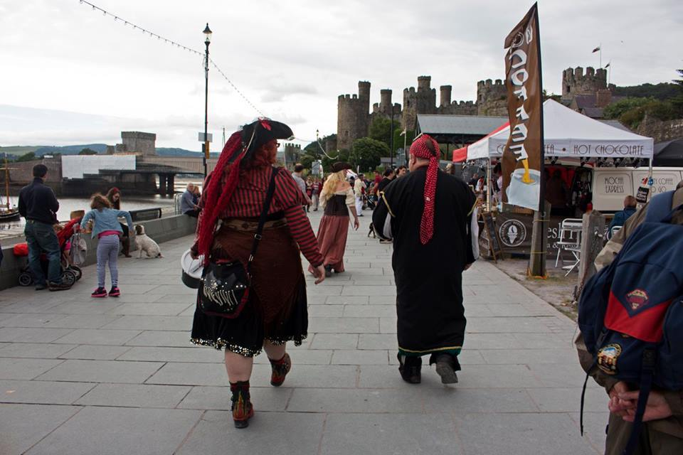 The Conwy Pirate Weekend organisers are set to walk away from Conwy in favour of Rhos-on-Sea. Picture: Facebook/Conwy Pirate Weekend