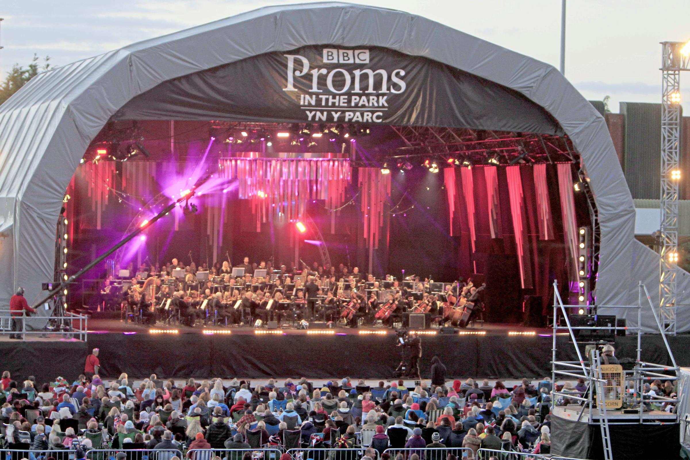 BBC's Proms in the Park to return to Colwyn Bay