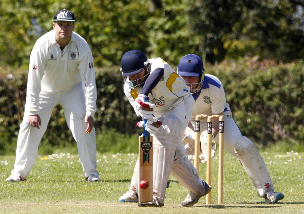 Conwy skipper Rajjenu Britto made 78 in their defeat