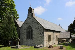 Saved Llanfair Talhaiarn church turns its attention to transforming church yard
