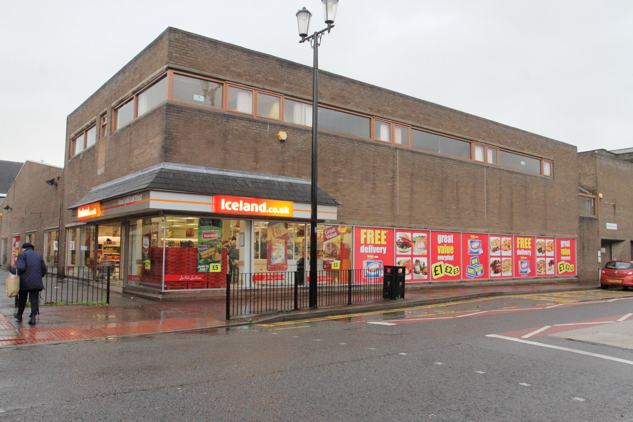 Iceland store in Mold, Flintshire