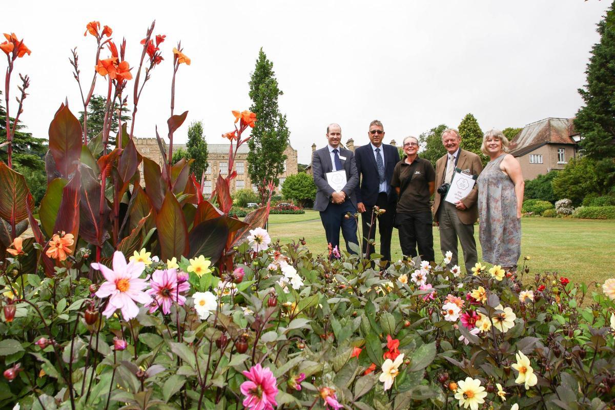 Britain In Bloom Judges Visit Colwyn Bay North Wales Pioneer