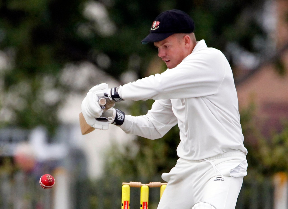 Llandudno wicketkeeper Keegan Armstrong was in fine form