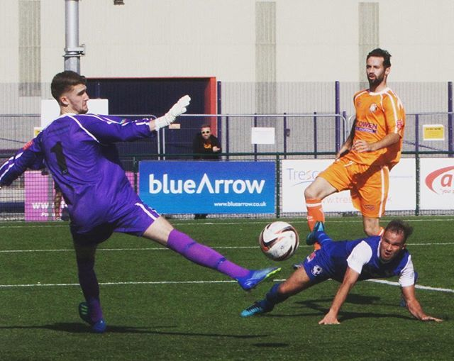 Ryan Edwards heads home a late winner for Airbus Broughton
