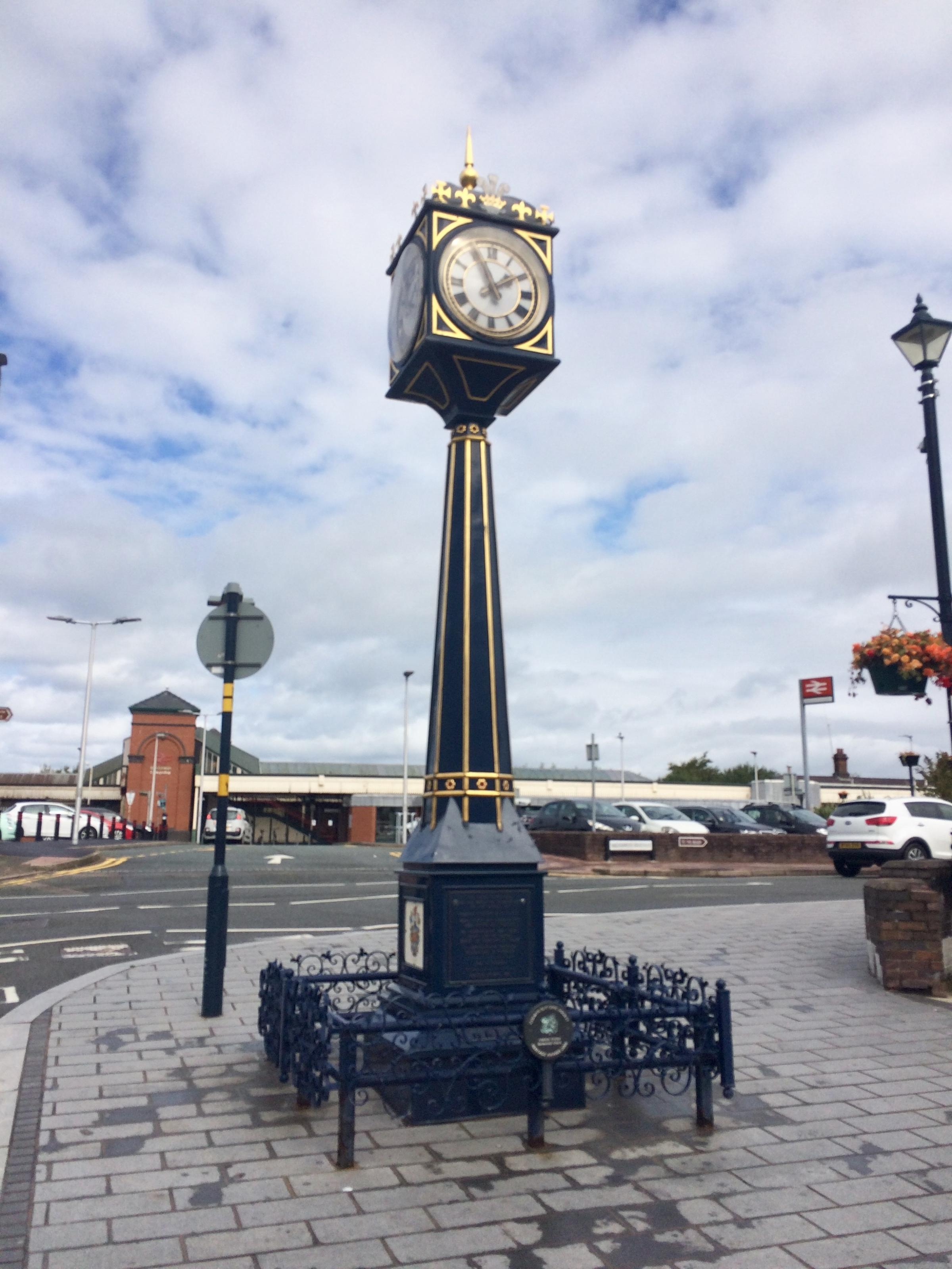 The Memorial Clock. Picture: Kerry Roberts