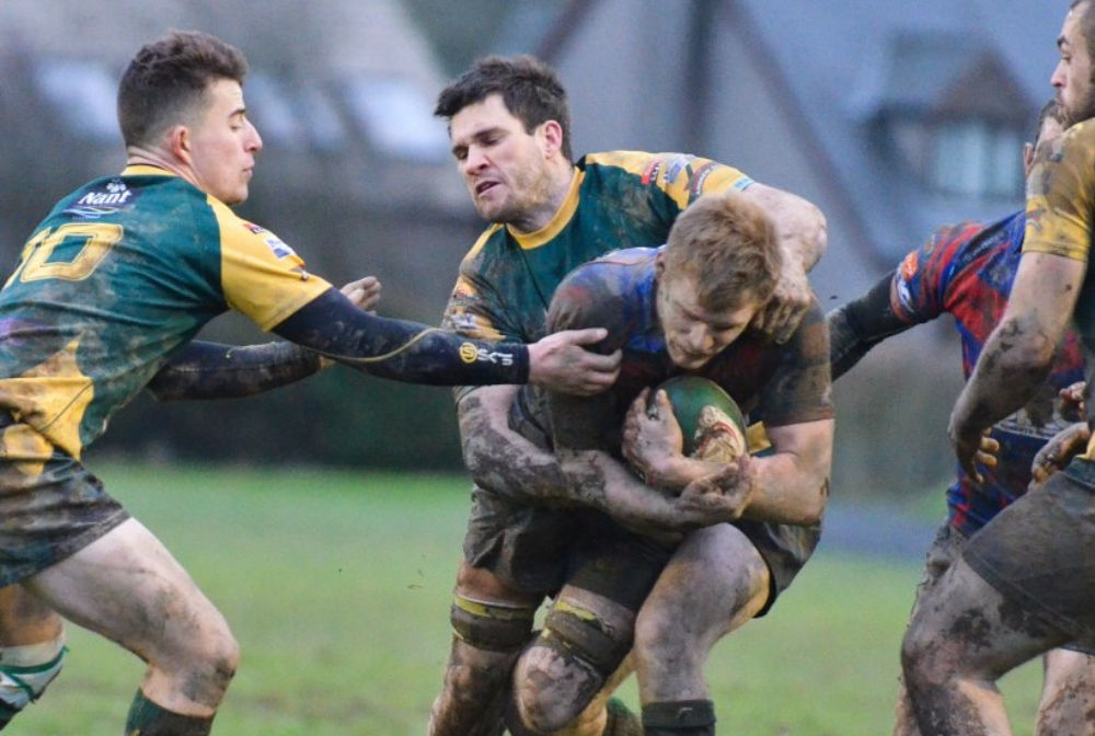 Action from Nant Conwy's win at Bala