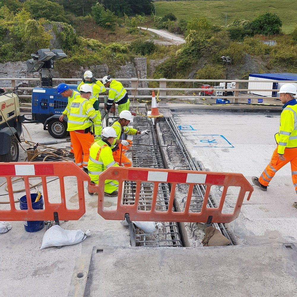 No more delays as works on the A55 near Llanddulas come to