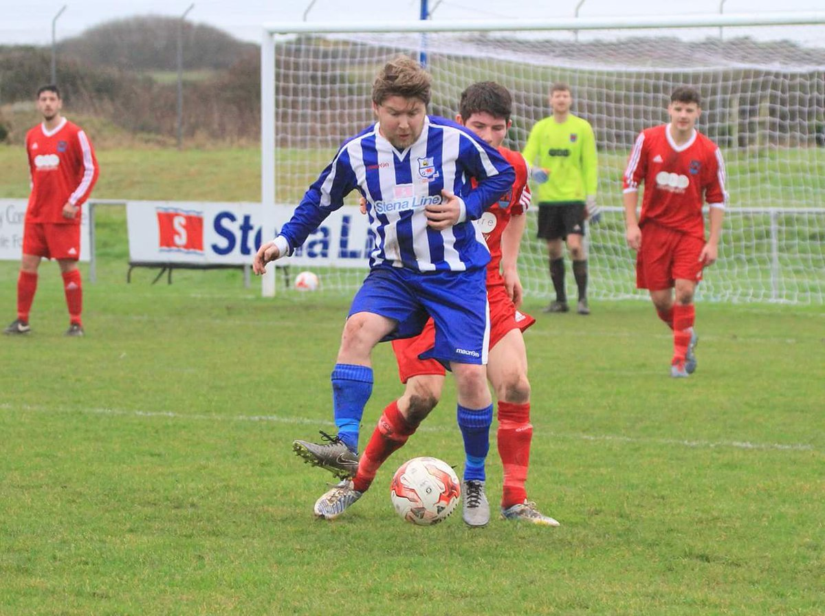 Mel McGinness went close for Holyhead Hotspur in the first half