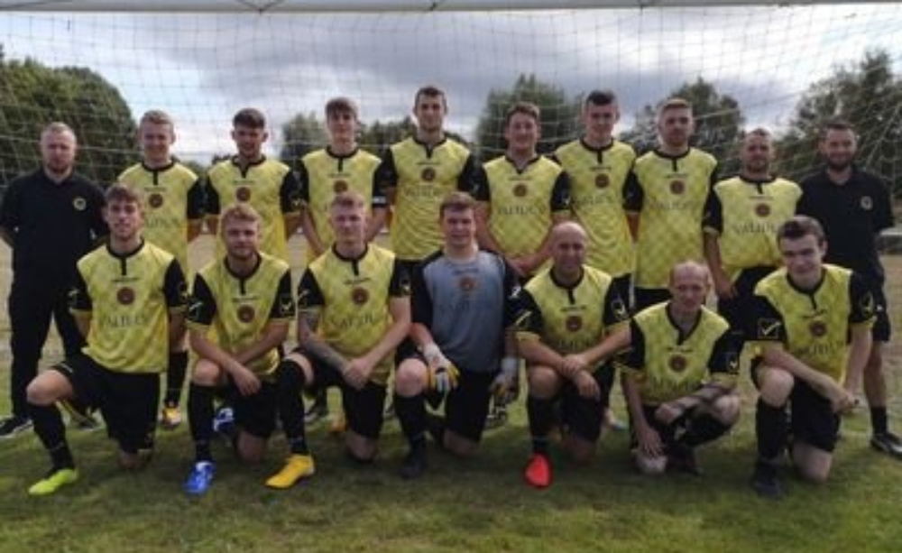 St Asaph City Reserves picked up a cup win over Denbigh Development