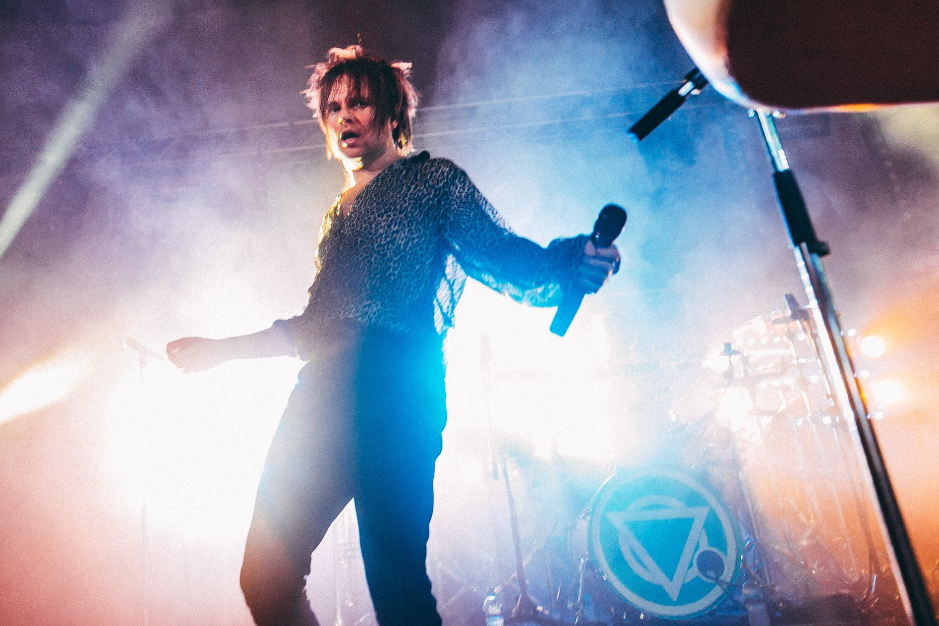 Rou Reynolds is headed for Venue cymru this month. Picture: Enter Shikari