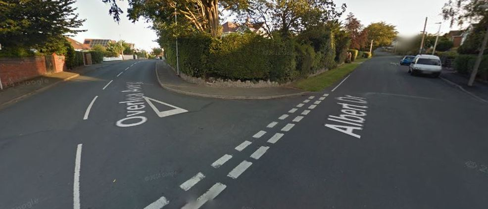 This incident happened near Overlea Avenue, on the junction. Picture: GoogleMaps