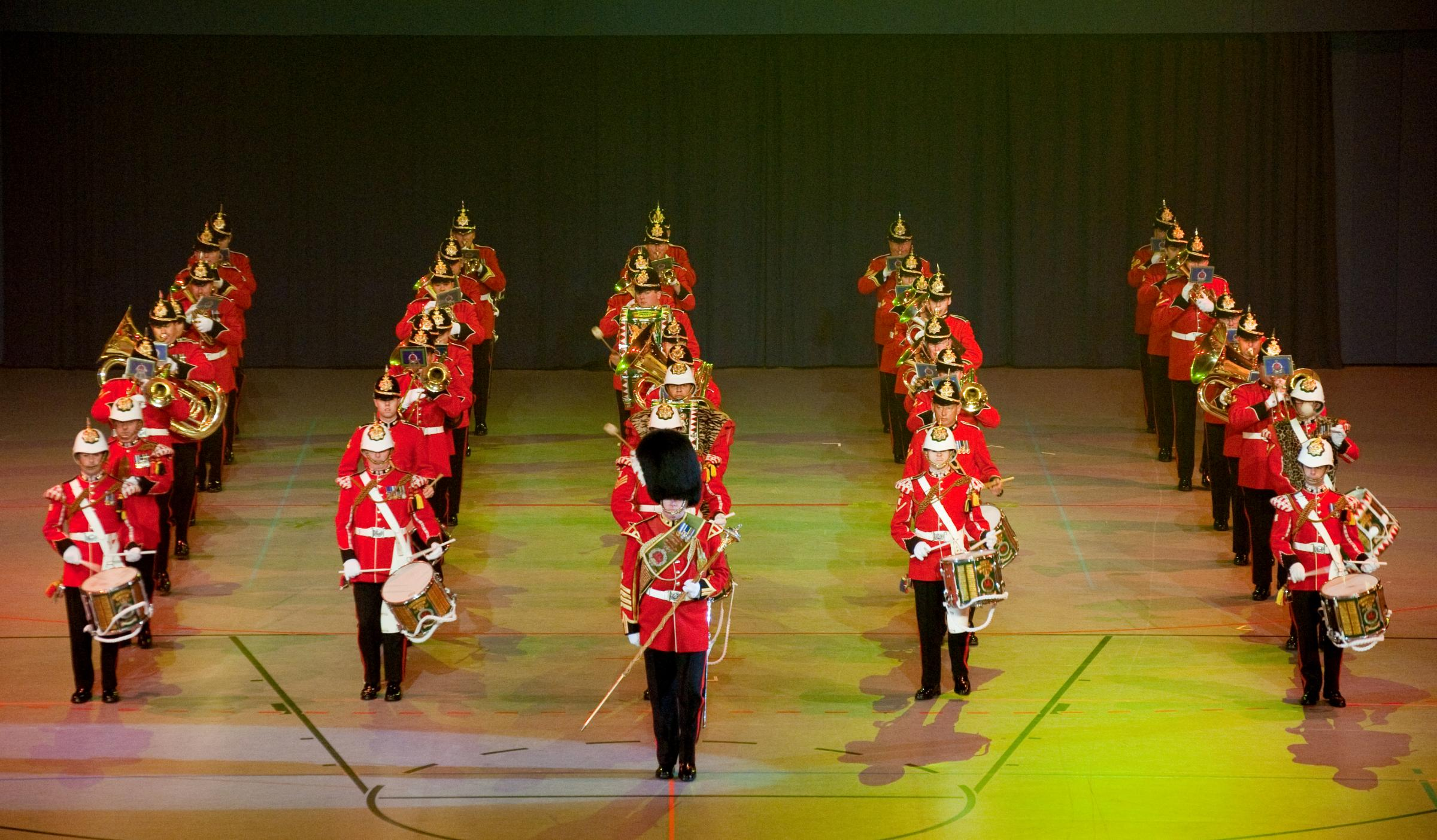 The Band of the Royal Welsh will be at Denbigh Town Hall on Sunday