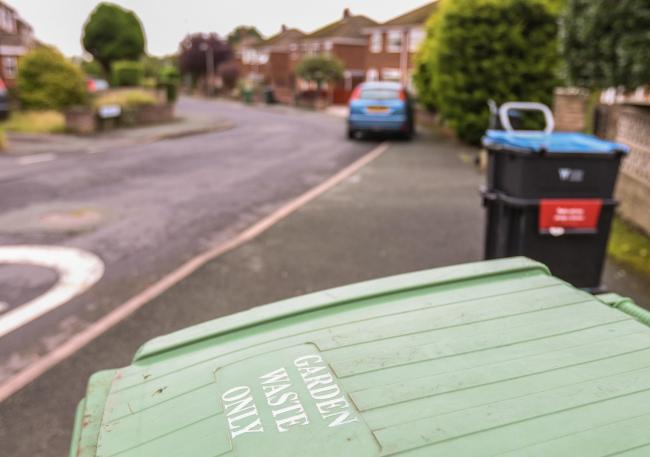 A charge for garden waste collection could soon be introduced in Conwy