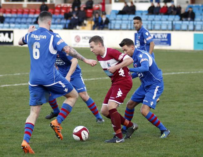 Danny Andrews is set to swap Colwyn Bay for Flint Town United (Photo by Dave Thomas)