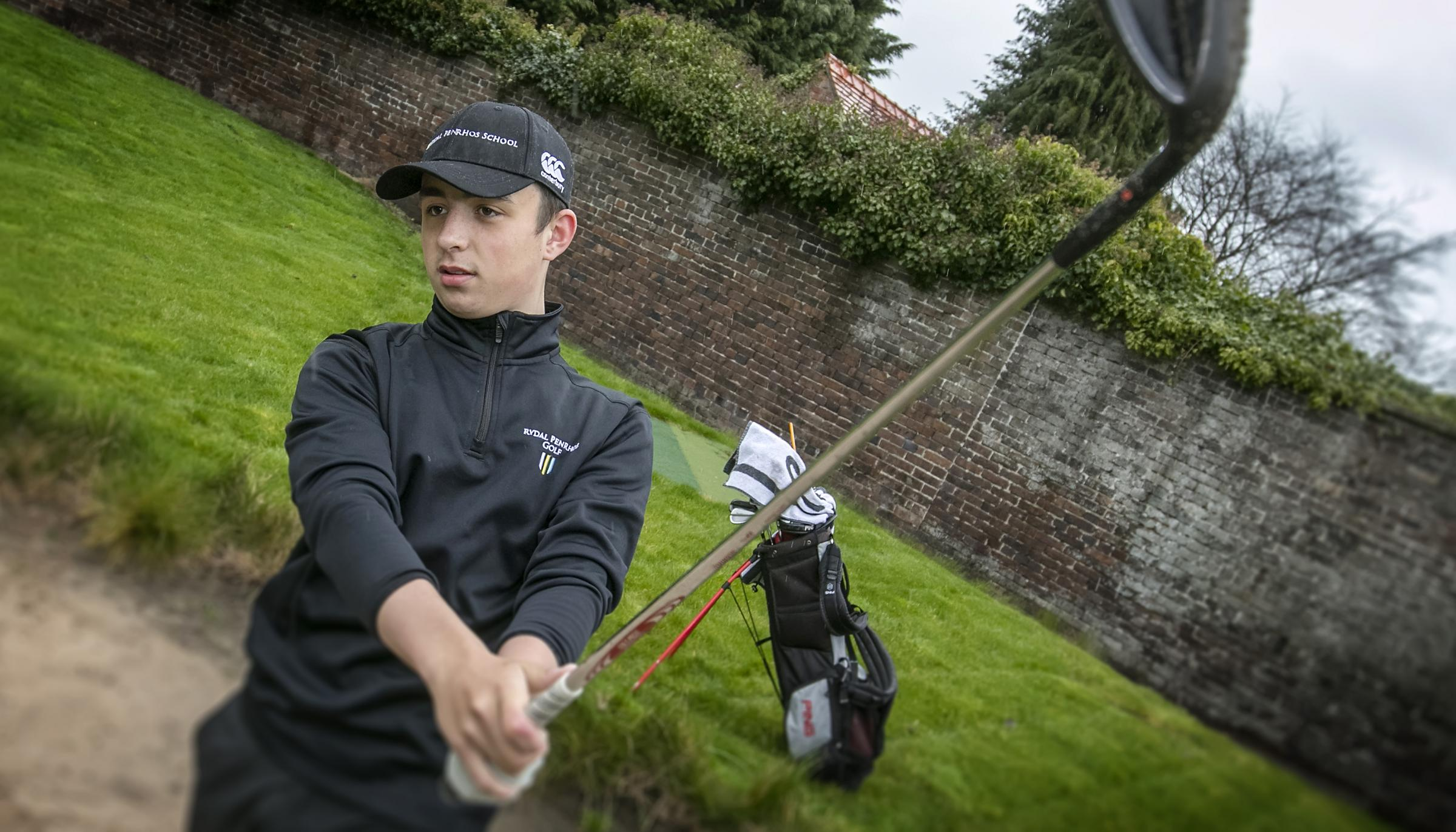 Reuben Bather secured a top-five finish at the Scottish Boys' Open
