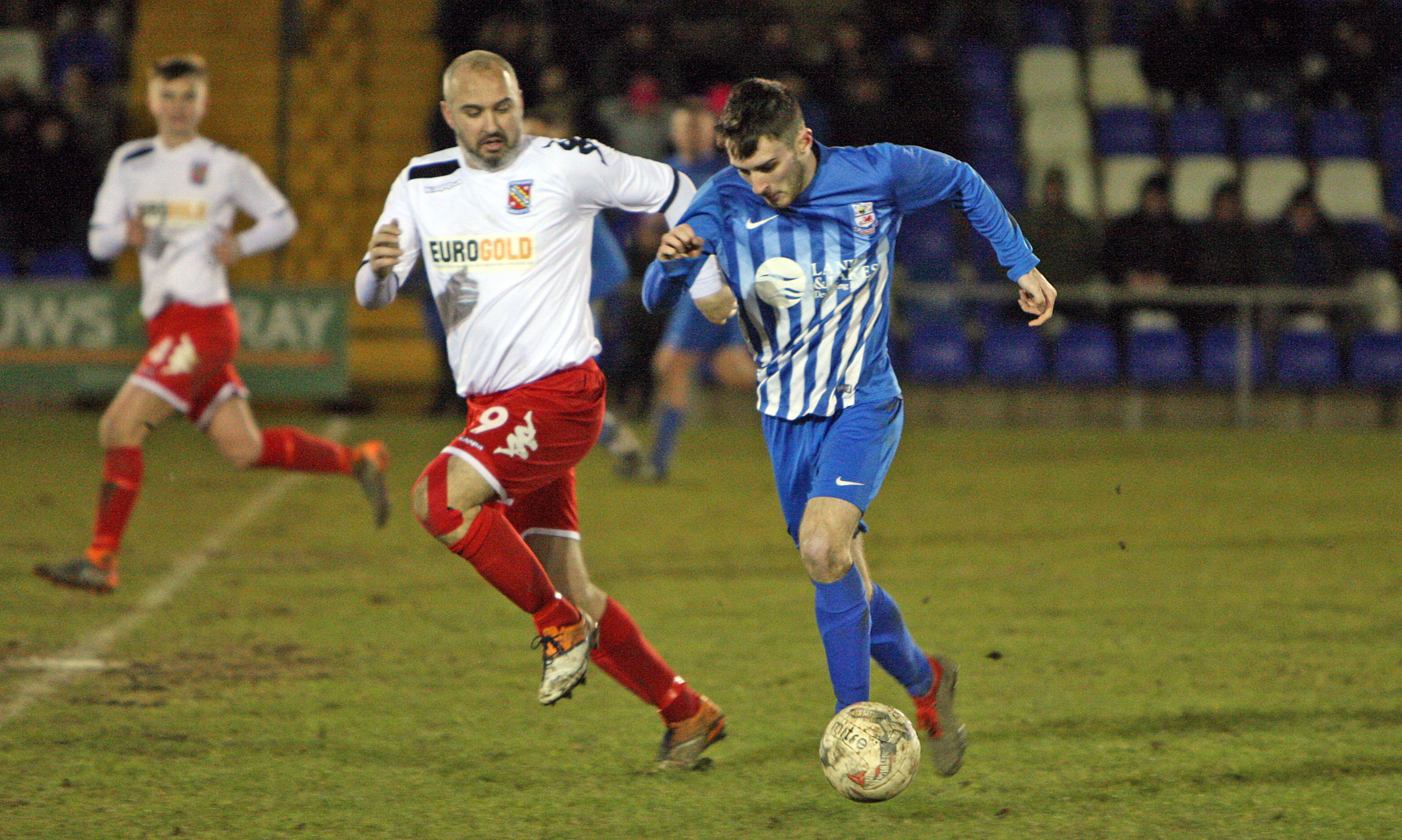 Holyhead Hitspur secured a vital home win over Rhyl (Photo by Richard Birch)