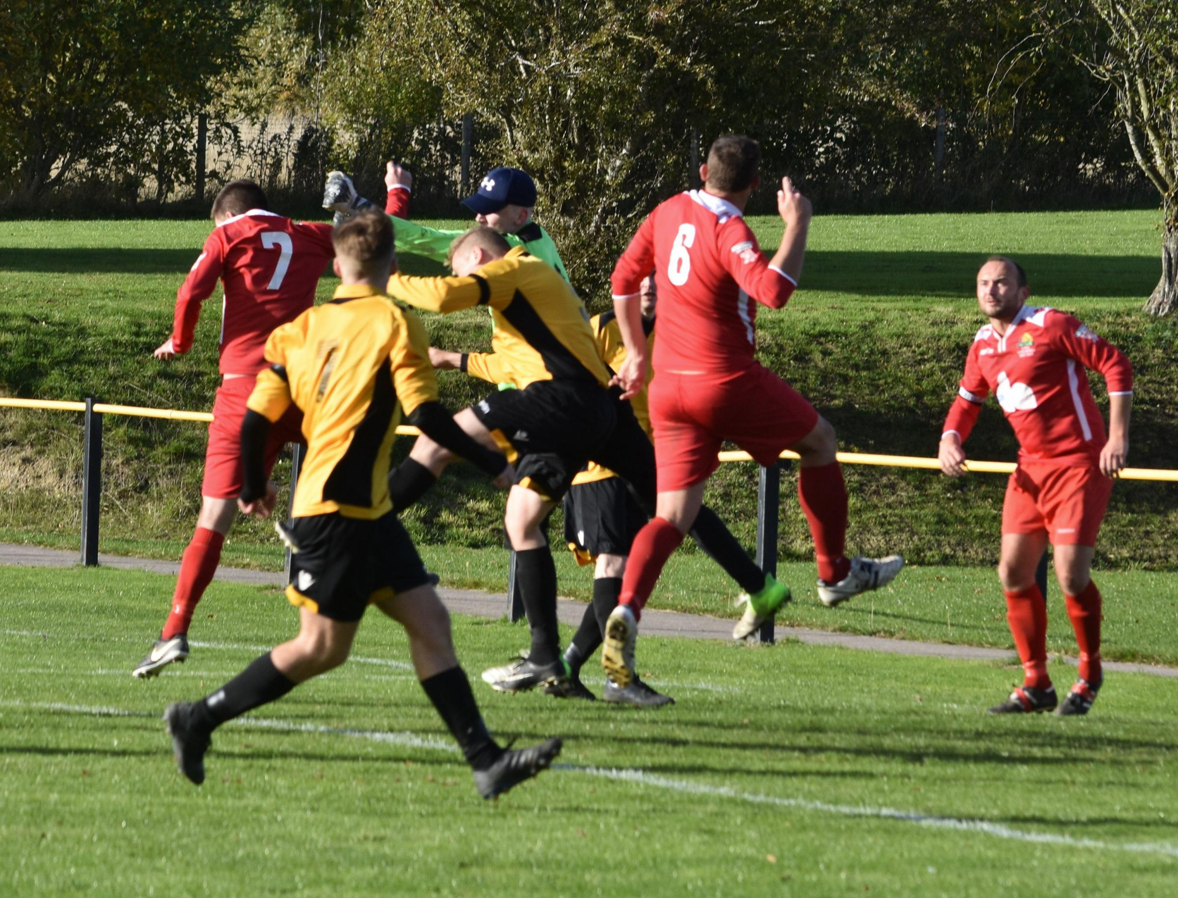 It was another dramatic weekend of action in Welsh Alliance Division Two