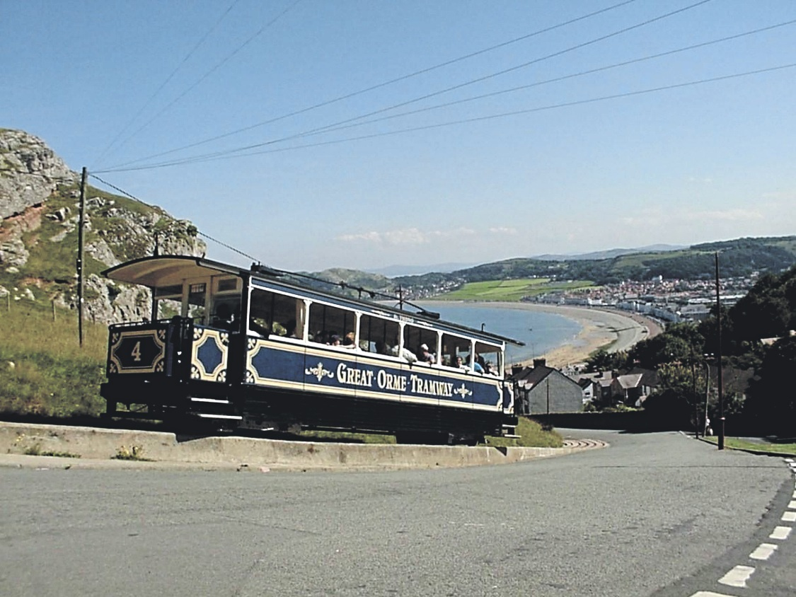 The Llandudno Great Orme Tram. Picture: Kerry Roberts