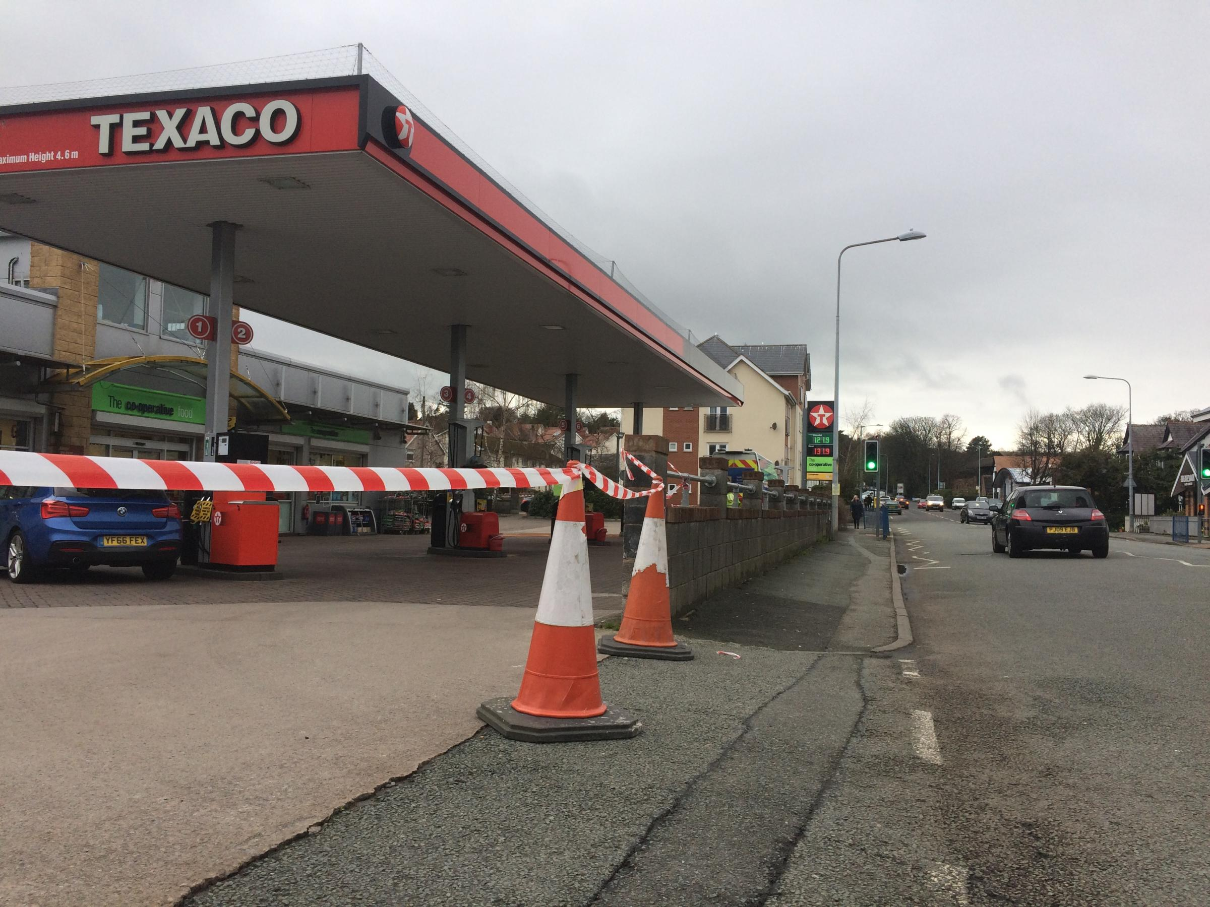The Co-Op petrol station in Old Colwyn. Picture: Kerry Roberts