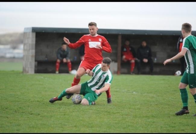 Prestatyn Sports failed to hold on to a lead at Bodedern Athletic (Photo by Damon Mead)