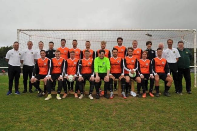 Meliden achieved cup success at high-flying Rhuddlan Town