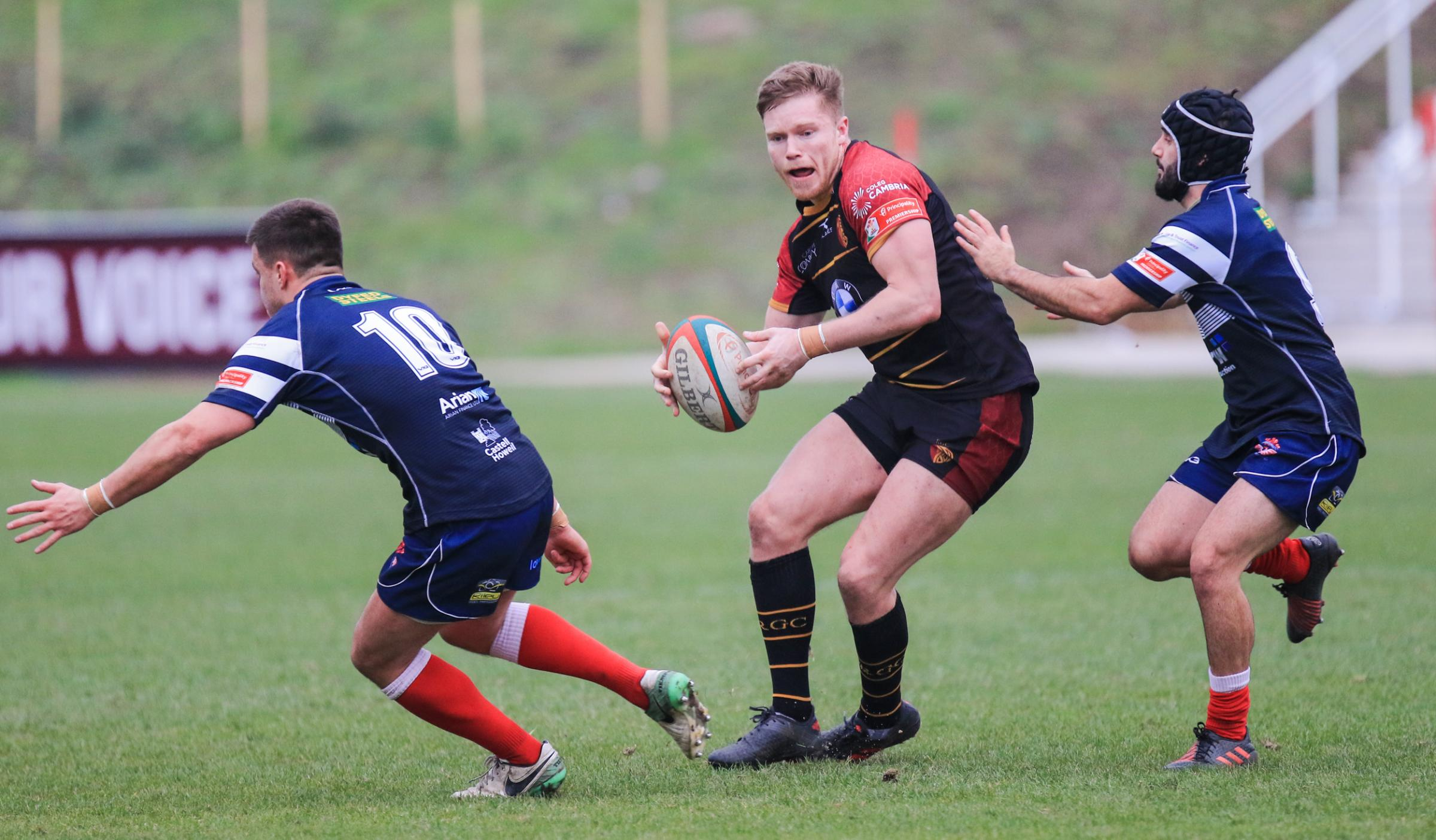 RGC picked up a bonus point in their defeat at Llanelli (Photo by Tony Bale)