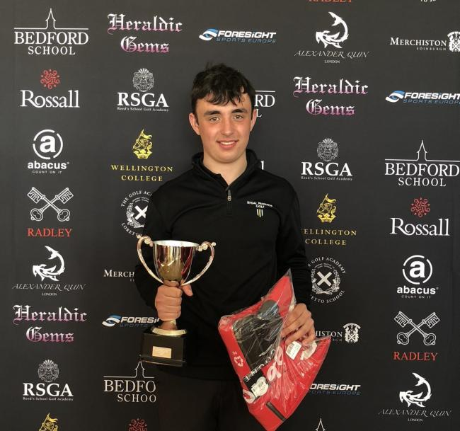 Reuben Bather shot 66 to clim the ISGA Northern Open title