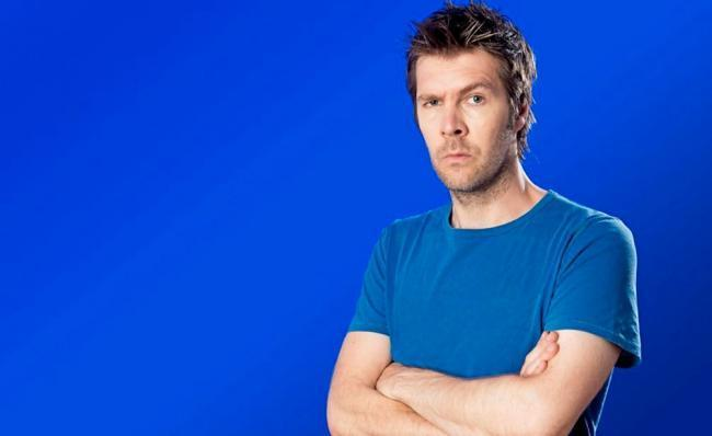 Welsh comedian Rhod Gilbert will bring a double dose of laughs to Llandudno this year