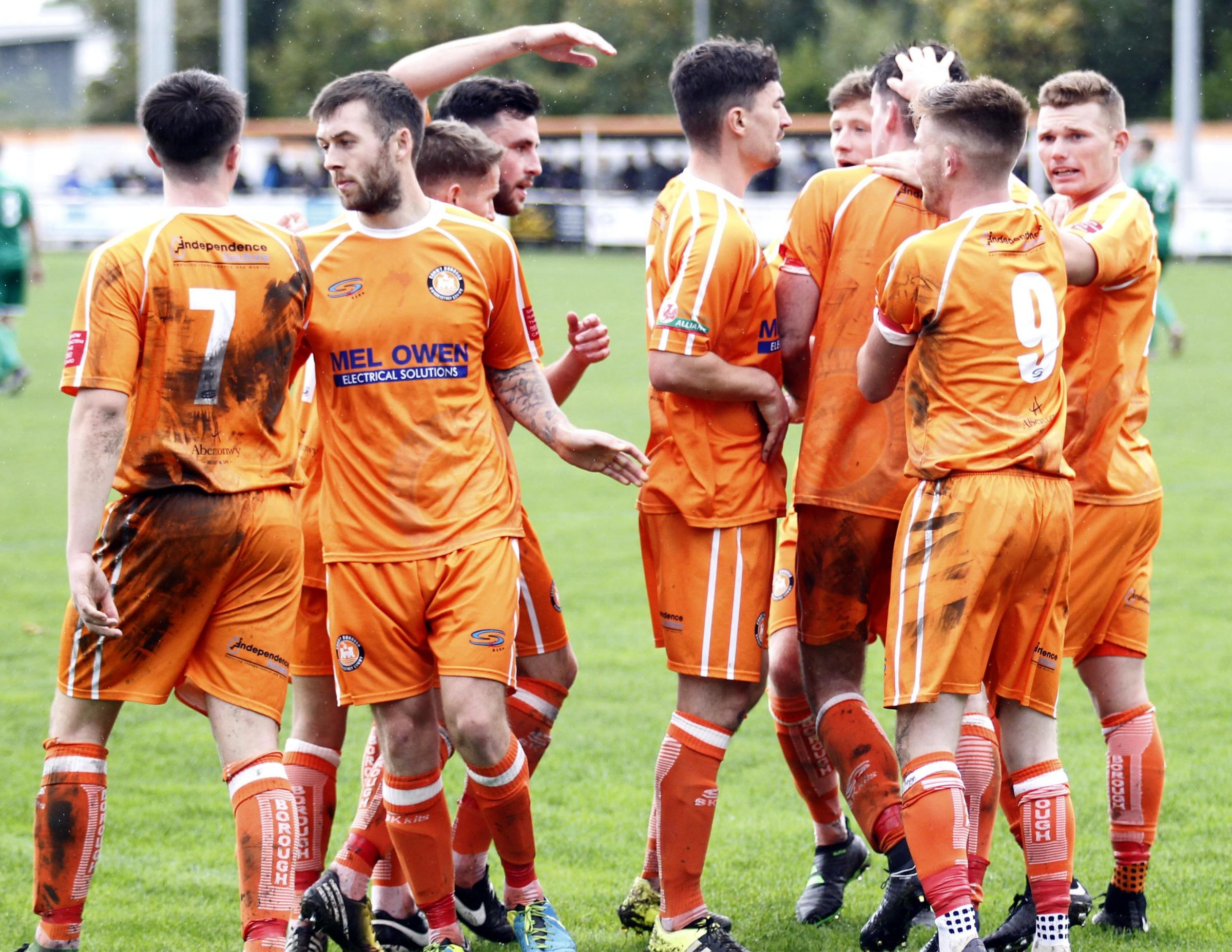 Conwy Borough have tied down a host of squad members this week