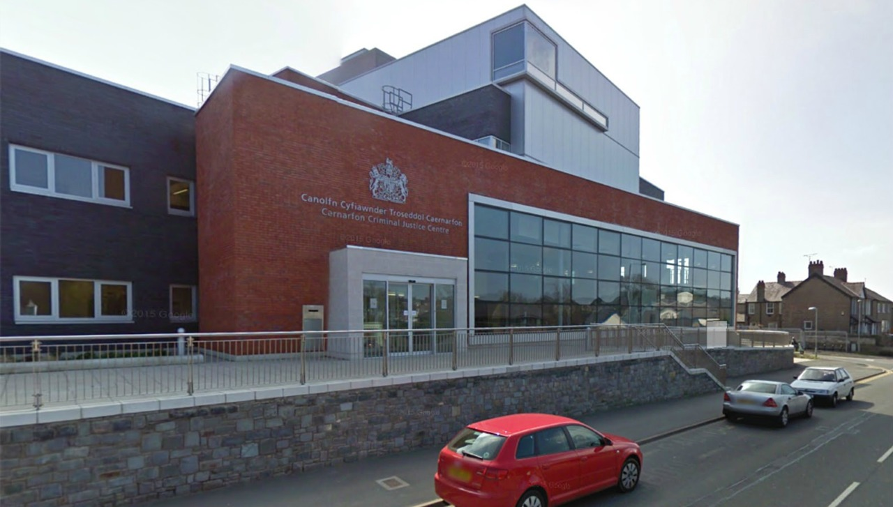 Brian Law was given a six month prison sentence, suspended for 12 months, at Caernarfon Crown Court