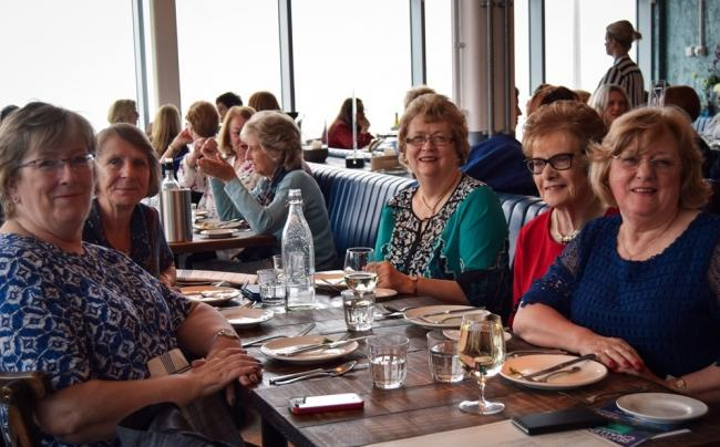 The ladies who lunched for St David's Hospice