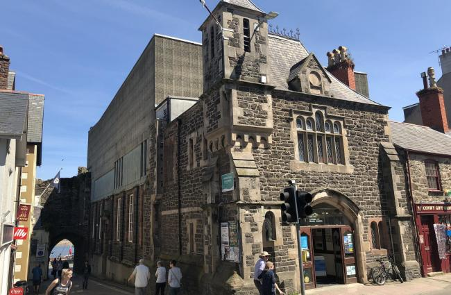 Conwy Civic Hall building will be offered on the open market this summer