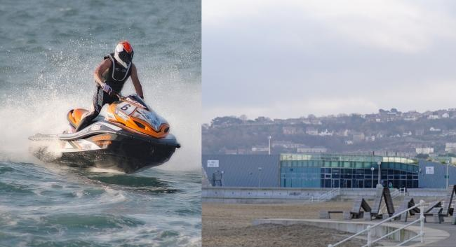 UK's top jet ski racers head to Colwyn Bay this weekend for